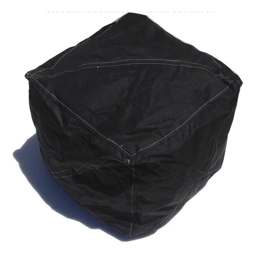 silla cubo banquito taburete reposapies lona tela  envíos