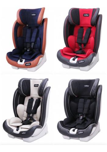 silla de auto sefor con sistema isofix bebes niña niño