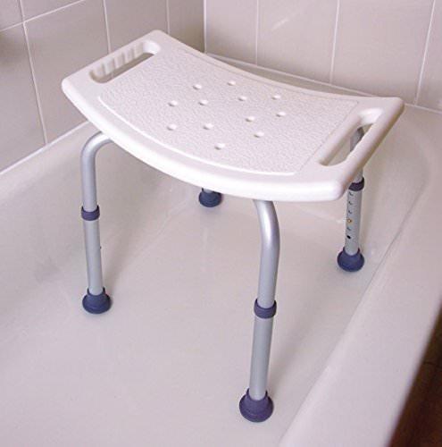 silla de baño antibacteriano soporta 250 lb vaunn medical