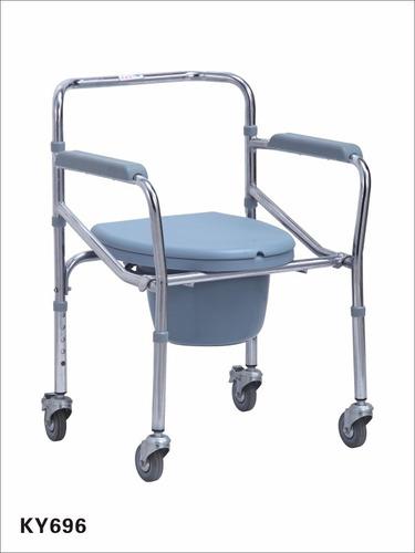 silla de baño con ruedas. comoda sanitaria envio gratis