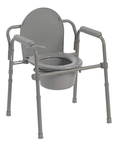 silla de baño soporta hasta 350 lb en acero drive medical