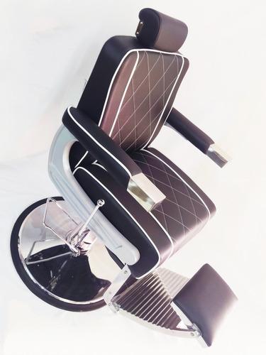 silla de barberia hidraulica importada