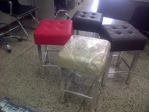 silla de barra para cocina o comedor bancas mila