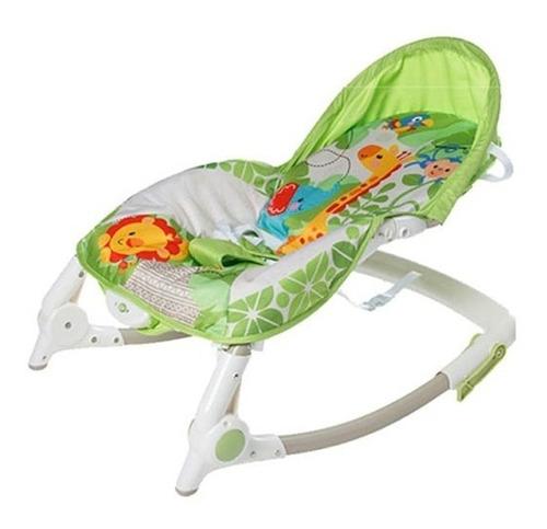 silla de bebé bouncer con vibración 3 en 1 hasta 18kg oferta