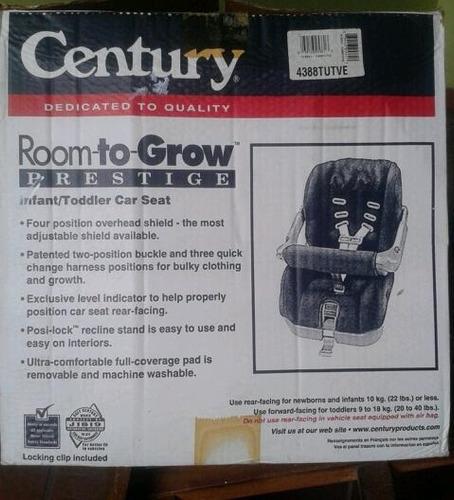 silla de bebé century para carros