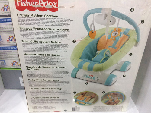 silla de bebe fisher price