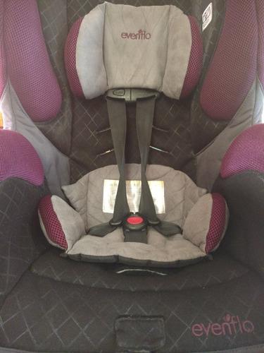 silla de bebe para auto o camioneta evenflo