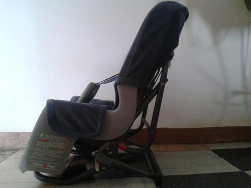 silla de bebe para carro fisher price de 3 posiciones