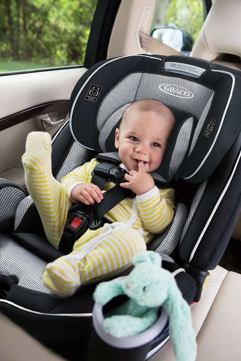 How Should A Baby Be Strapped In A Car Seat