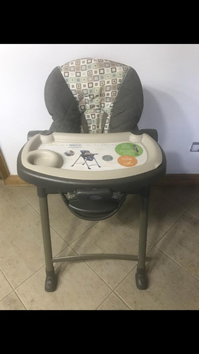 silla de bebe para comer marca graco
