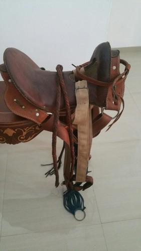 silla de caballo usada remato