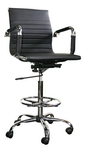 silla de cajero para barra/comercio sin apoya pies
