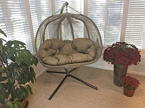 silla de calabaza con soporte de florhouse corteza de árbol