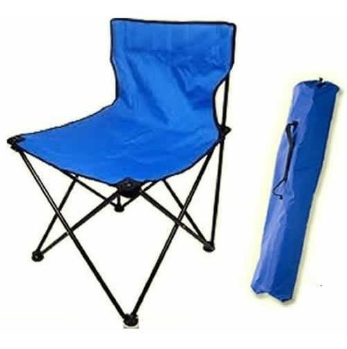 silla de camping plegable - con bolso de transporte