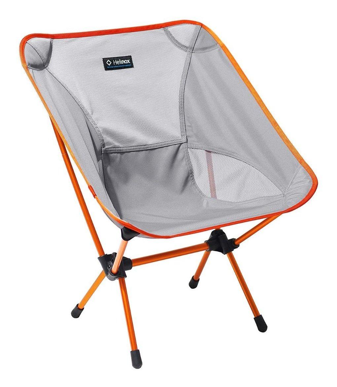 Silla Plegable Decoracion Helinox De Naranja Camping Gris IDWE9H2