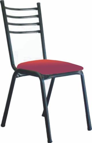silla de caño apilable - 1 pulgada - bar