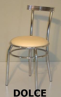 silla de caño dolce cromada sala de estar comedor cocina