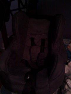 silla de carro como nueva, recien tapizada