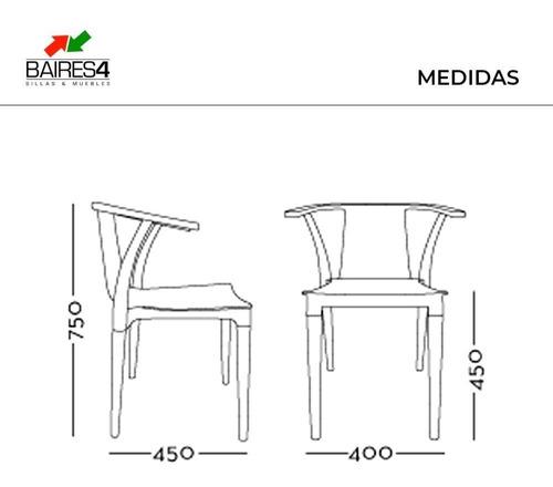 silla de comedor diseño palta wood colors