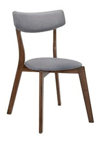 silla de comedor madera tela tapizado cherlyn - zico