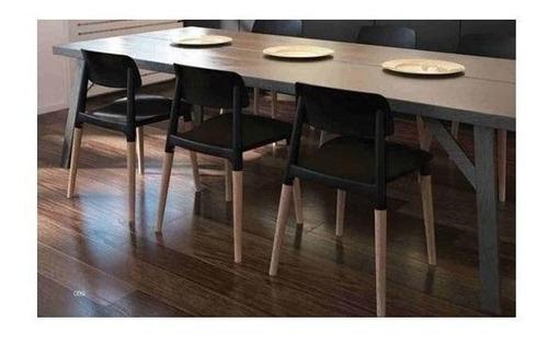 silla de comedor milan novara diseño nordico moderno madera