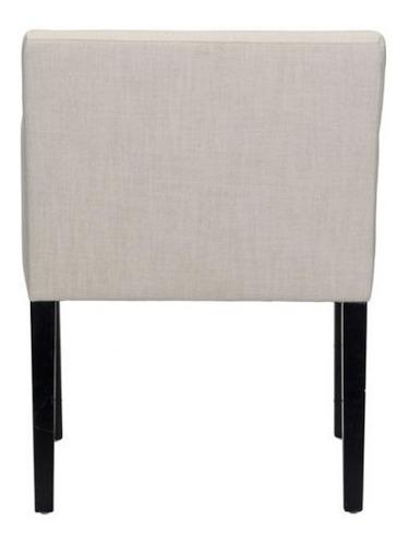 silla de comedor modelo franklin - beige këssa muebles.