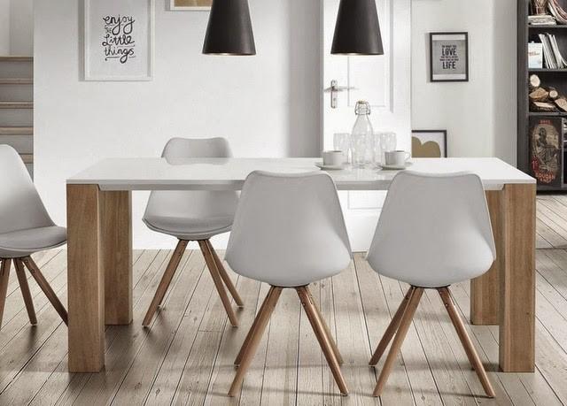 Silla De Comedor Moderna Ralf, Blanco, Tendencia Home - $ 34.990 en ...