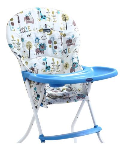 silla de comer arti azul