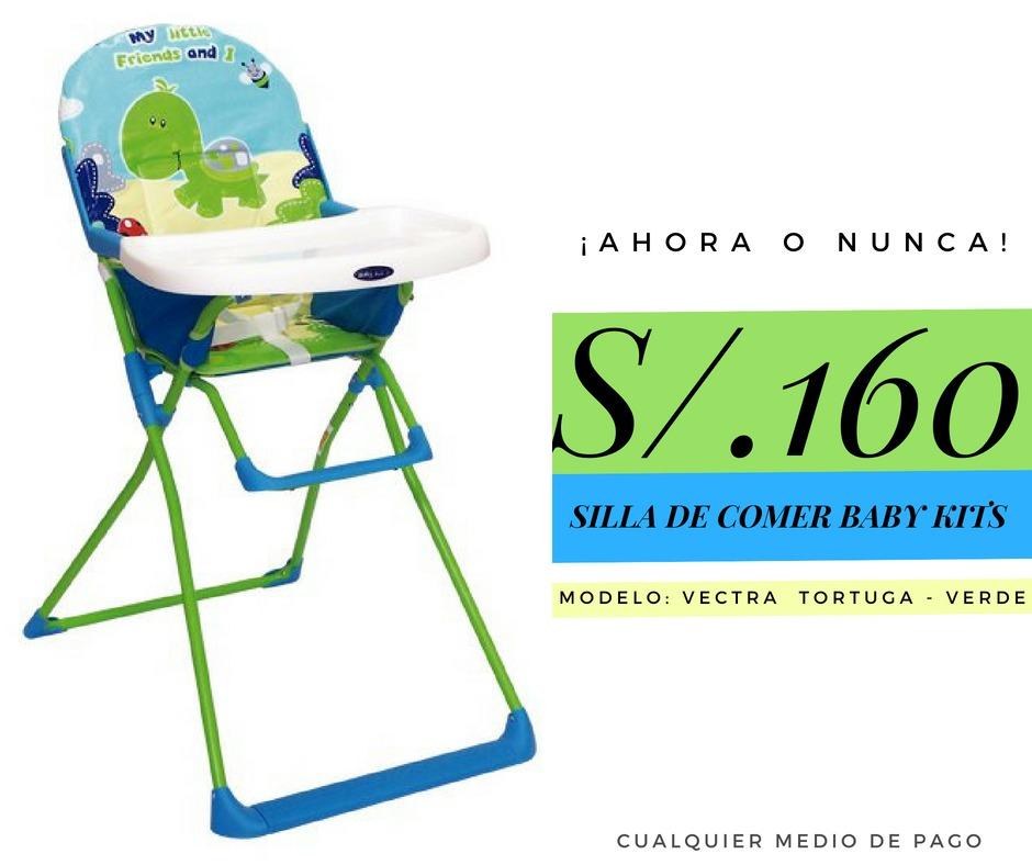 deb13027f Silla De Comer Baby Kits A S/.160 Producto Nuevo - S/ 160,00 en Mercado  Libre