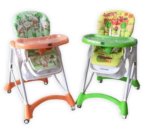 silla de comer bebe 5 alturas 3 posiciones de reclinado nice