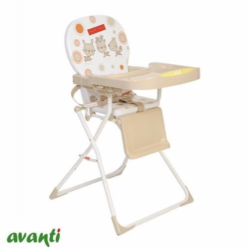 silla de comer bebe avanti plegable bandeja regulable cuotas