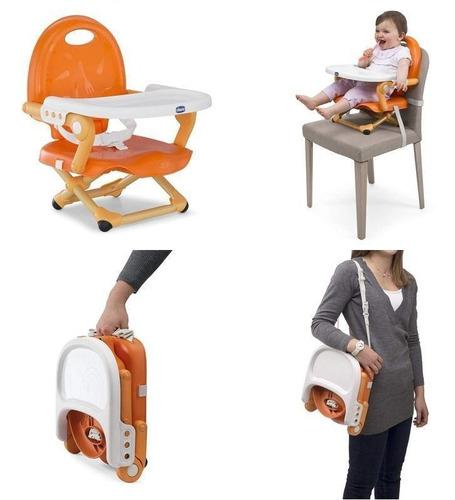 silla de comer bebe booster  chicco pocket