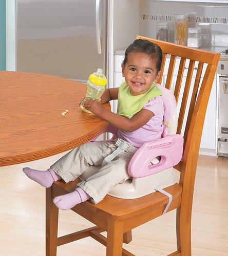 silla de comer bebe booster summer deluxe plegable liviana!