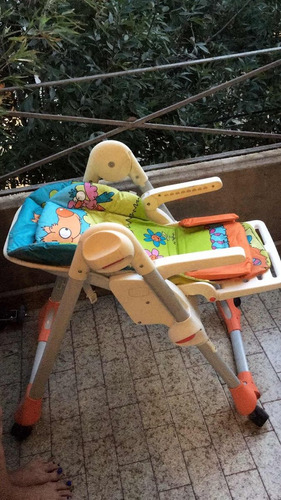 silla de comer bebe chicco polly