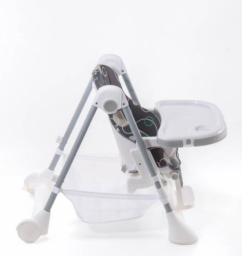 silla de comer bebe compacta  reclinable bandeja lullaby