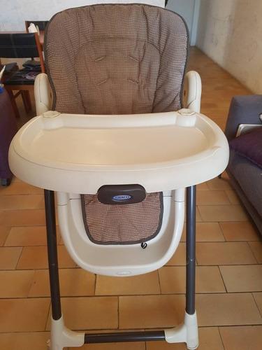 silla de comer bebe graco