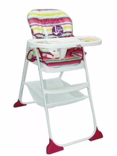 silla de comer bebé infani joie snaker 3 posicones reclinado