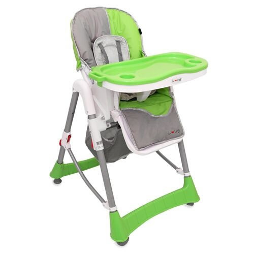 silla de comer bebe love 642 altura reclinado tienda love