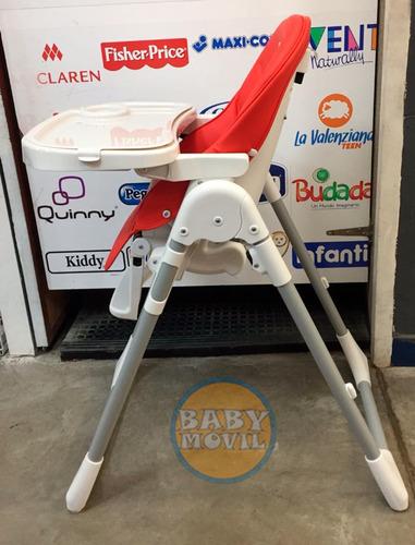 silla de comer bebe zaki p1 alturas y reclinacion babymovil
