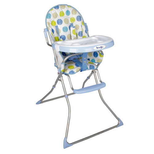 silla de comer bebeglo celeste