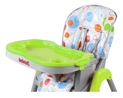 silla de comer bebesit 6670 snack plegable