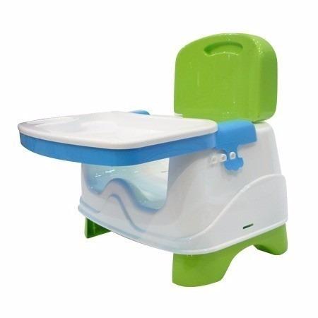 silla de comer booster plegable 2 alturas ok baby