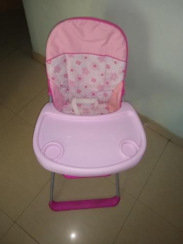 silla de comer de niña usada