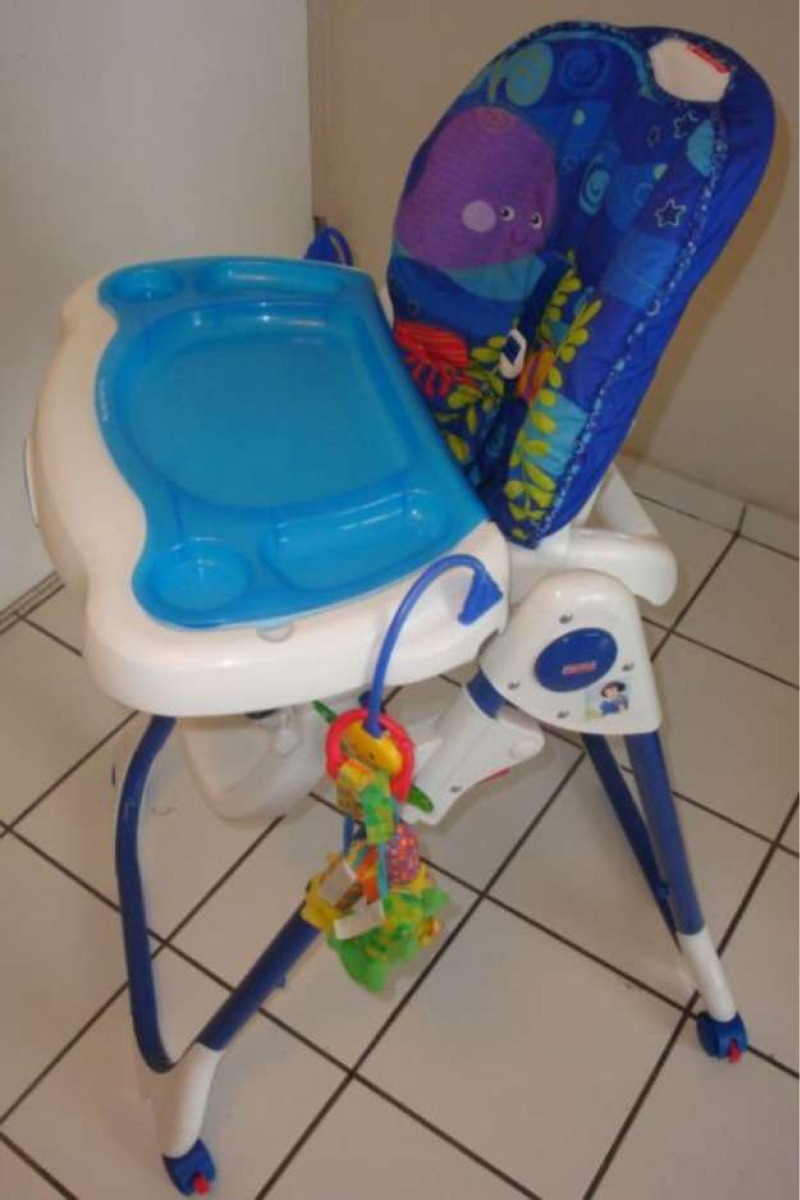 Silla de comer fisher price ocean wonders en for Silla fisher price para comer