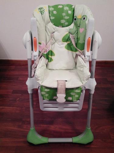 silla de comer graco switf fold plegable reclinable alturas