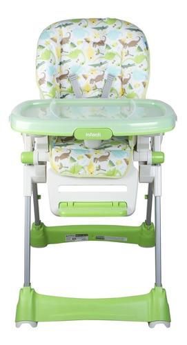 silla de comer happy meal circle green infanti