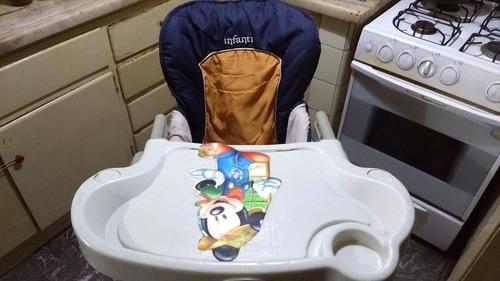 silla de comer infanti