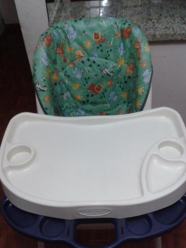 silla de comer marca graco (usada) unisex