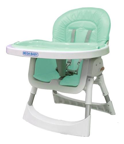 silla de comer mega baby para bebé doble bandeja 2 en 1