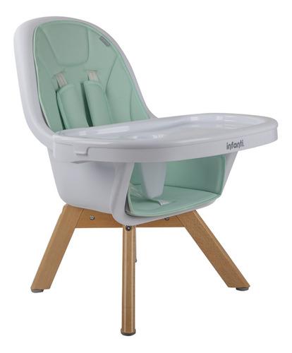 silla de comer nordic meal turquoise infanti